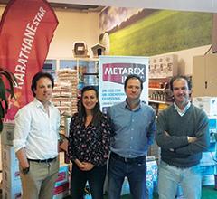 Filipa Setas e Filipe José, da Lusosem, com Carlos Inácio e João Gil da Messinagro